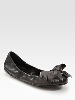 e551b735bd DIY Detachable Bow for Flats Inspired by Prada's Leather Bow Ballet ...