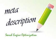 Optimize with Meta Descritpion