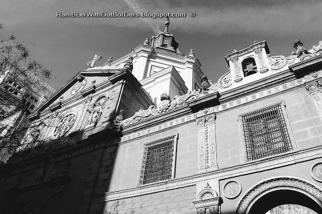 Iglesia de las Calatravas, Calle de Alcala, Madrid, Spain