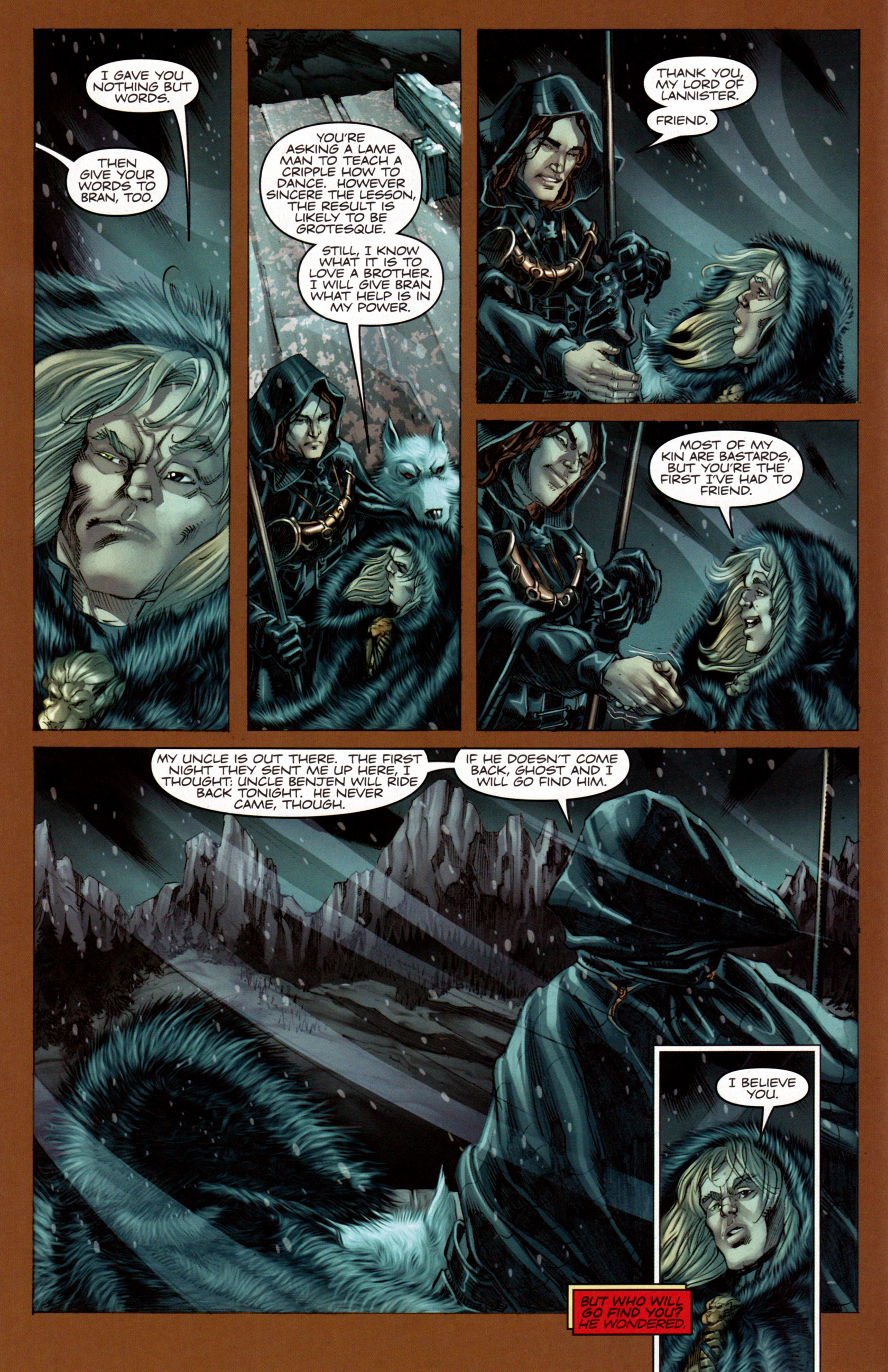 Read online A Game Of Thrones comic -  Issue #7 - 11