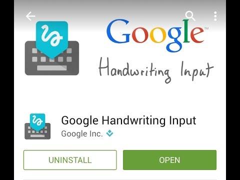 Aplikasi Keren Google Handwriting Input