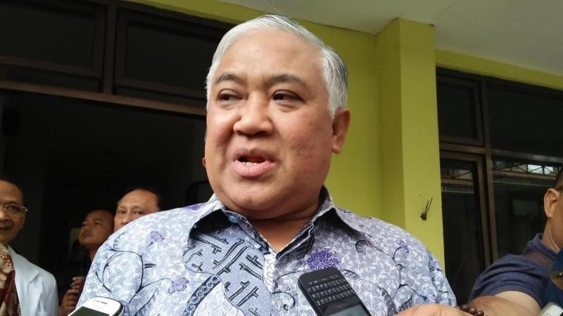 Ketua Dewan Pertimbangan MUI, Din Syamsuddin