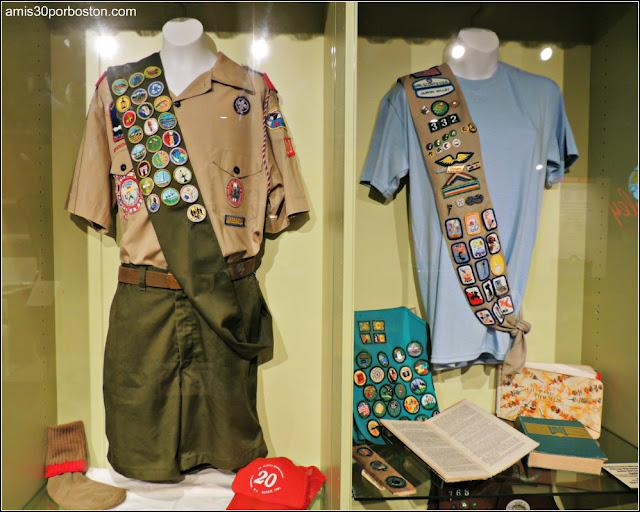 Uniformes de Boy Scouts y Girls Scouts