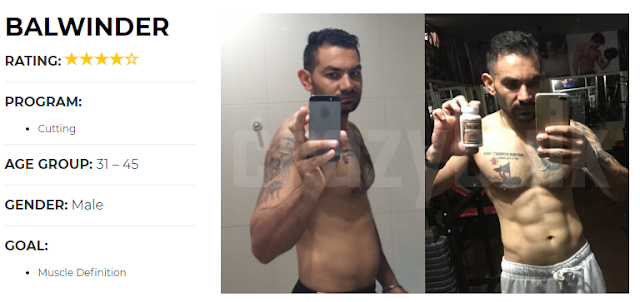 Real Stories from CrazyBulk Customers