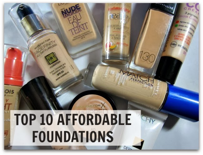 Top 10 Affordable Foundations