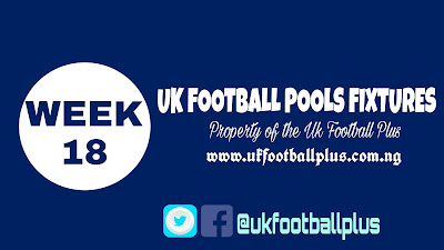 WK 18 UK football piios fixtures