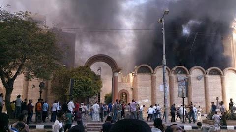 Ismét keresztény templomra támadtak Egyiptomban