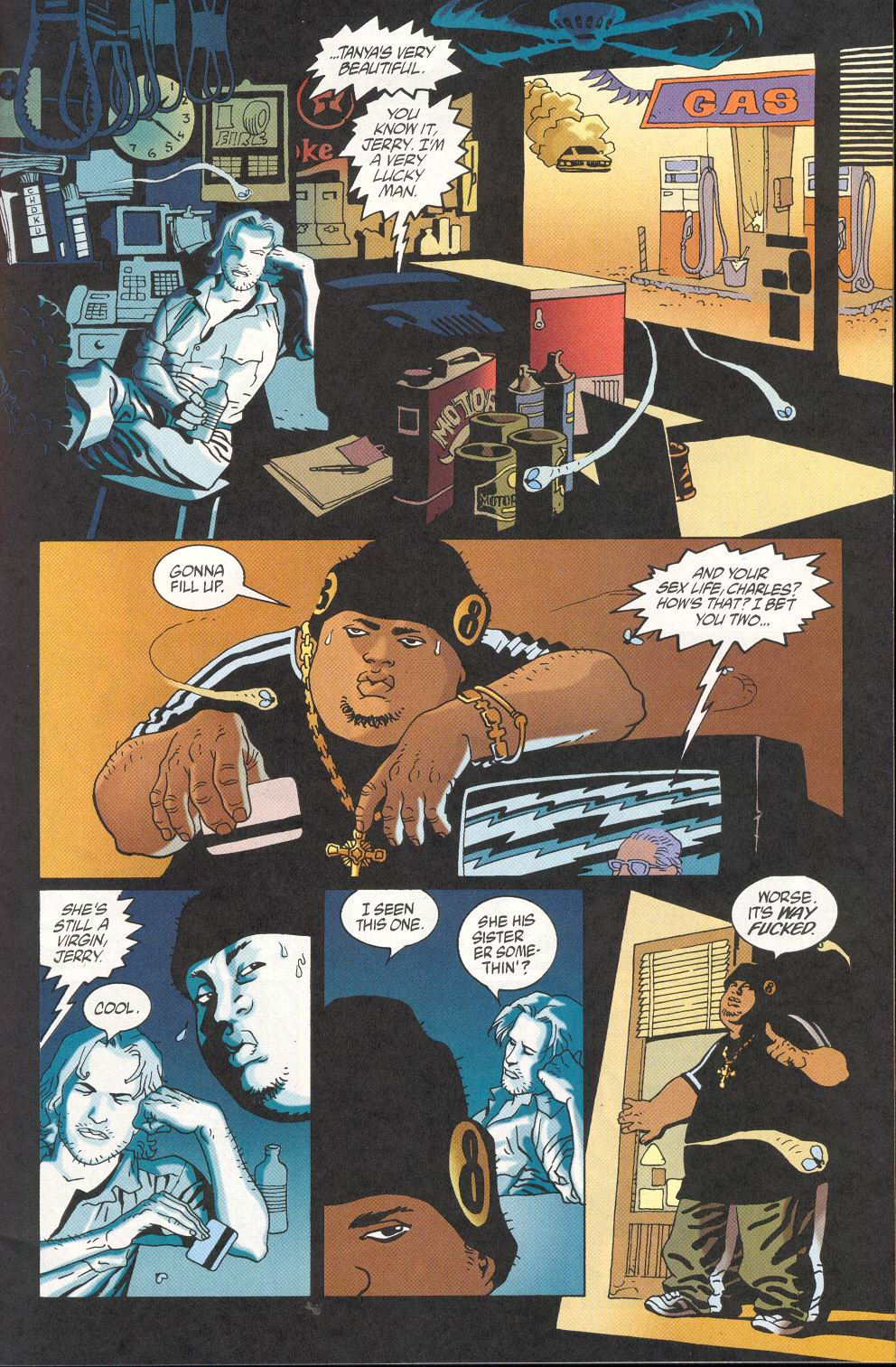 Read online 100 Bullets comic -  Issue #28 - 3