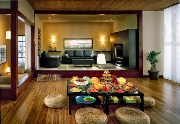 sala en estilo chino