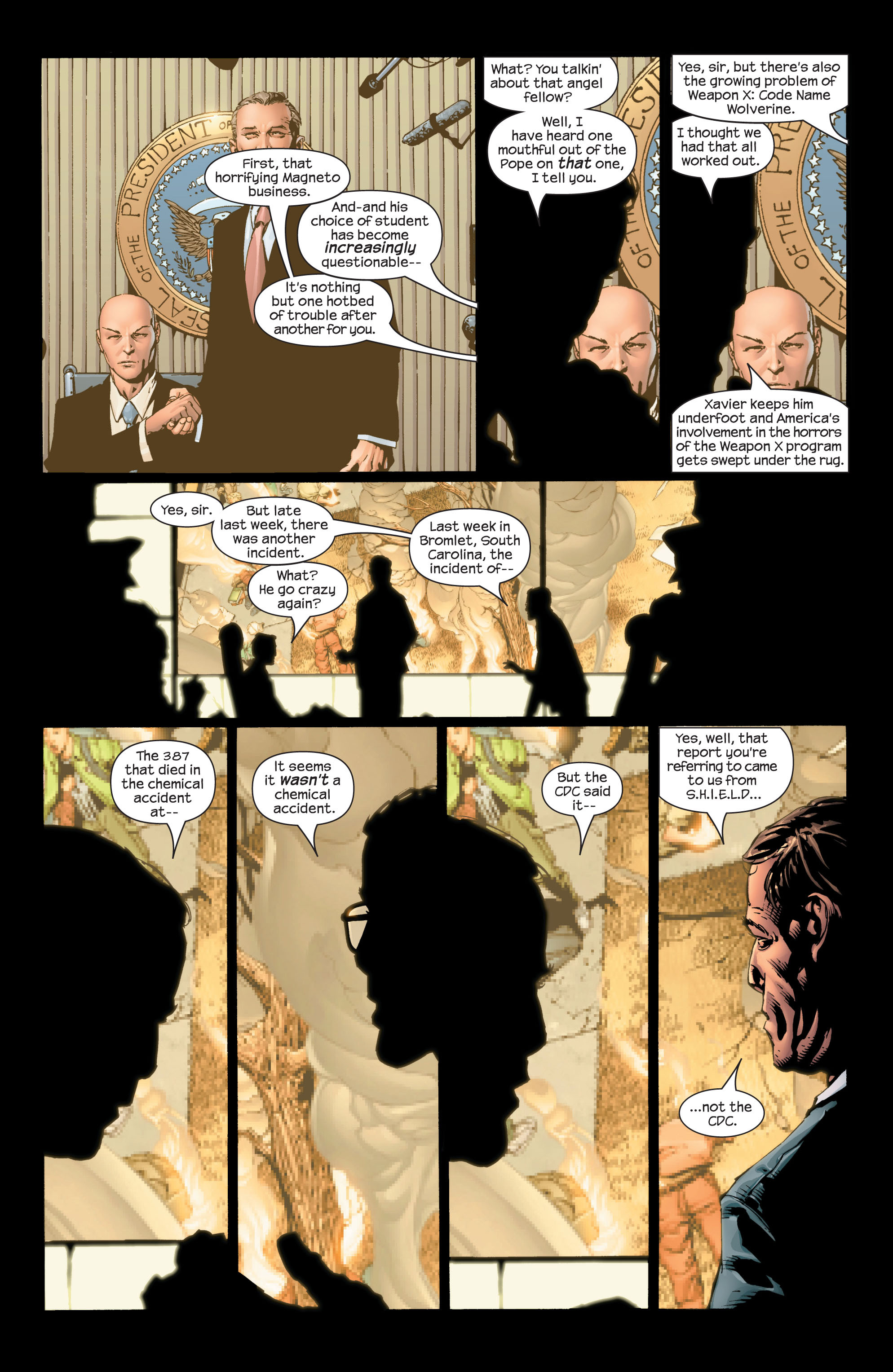 Read online Ultimate X-Men comic -  Issue #42 - 15