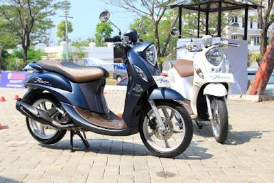 Fitur New Yamaha Fino 125 Blue Core