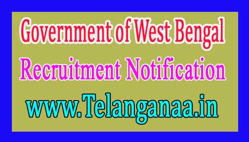 Government of West Bengal – Gram Panchayat, Panchayat Samiti Recruitment Notification 2017