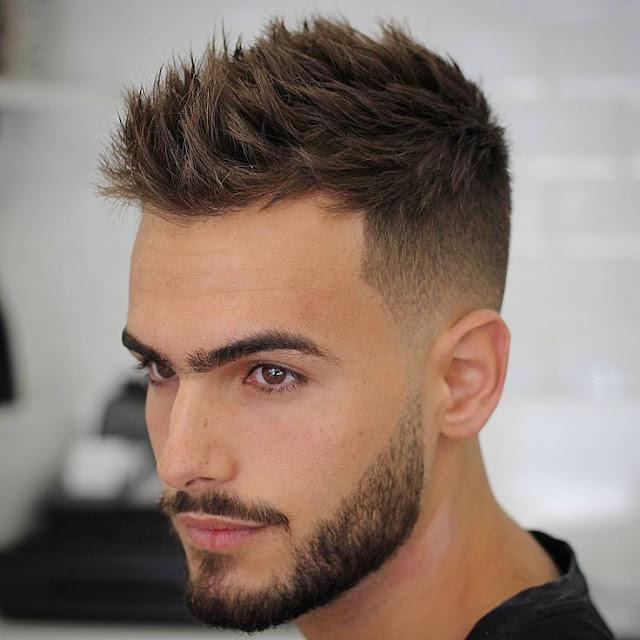 yüz yapısına göre erkek saçı