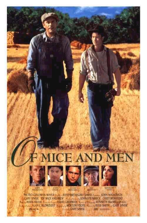 Of Mice And Men: Book Cover