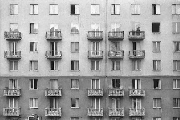 Varsovie, Ulica Syreny, © L. Gigout, 1990