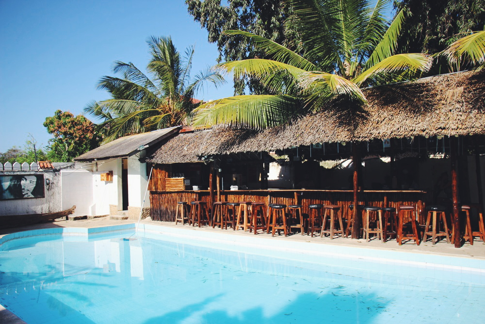 Kenia: Tulia Backpackers Hostel in Mombasa