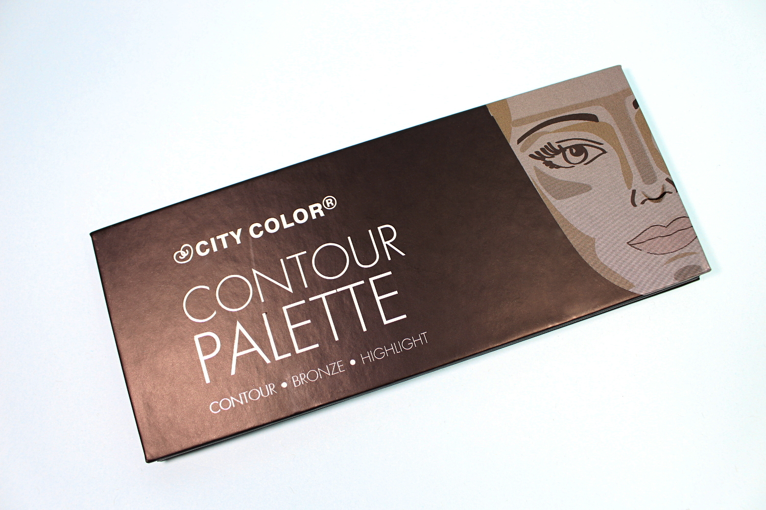 City Color Contour Palette liz breygel makeup cosmetics review before after demo test drive affordable budget friendly brand