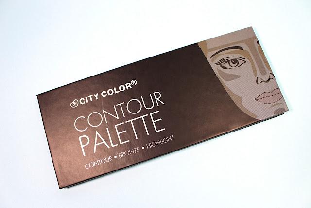 City Color Contour Palette liz breygel makeup cosmetics review before after demo test drive affordable budget friendly brand