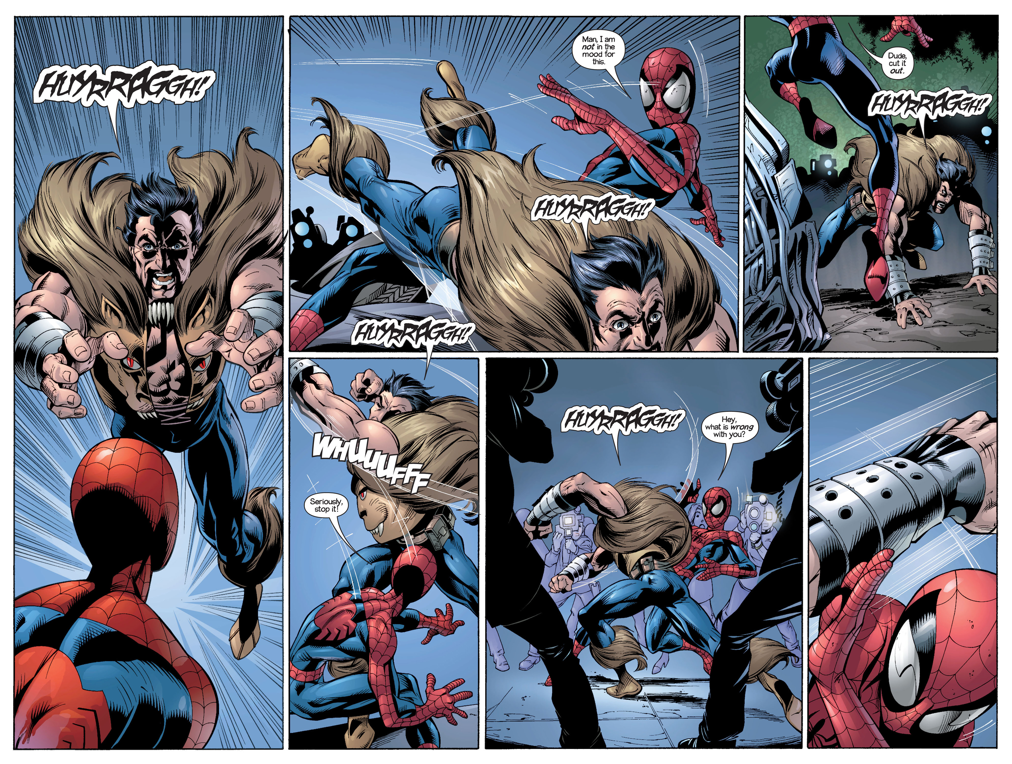 Read online Ultimate Spider-Man (2000) comic -  Issue #21 - 4