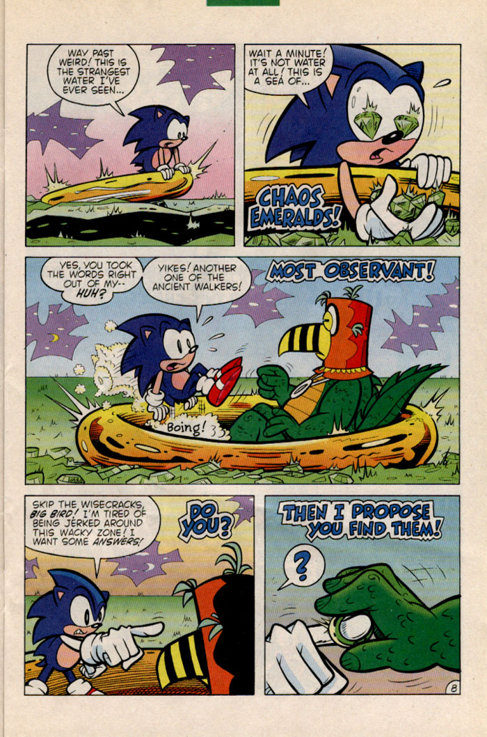 Read online Sonic The Hedgehog comic -  Issue #35 - 9