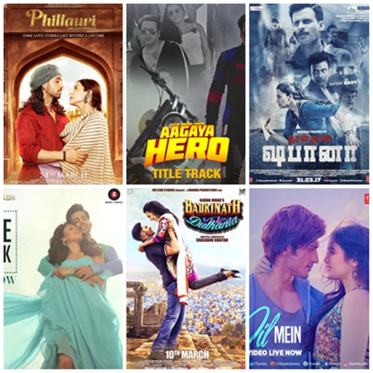 Bollywood Movies Releasing in March 2017