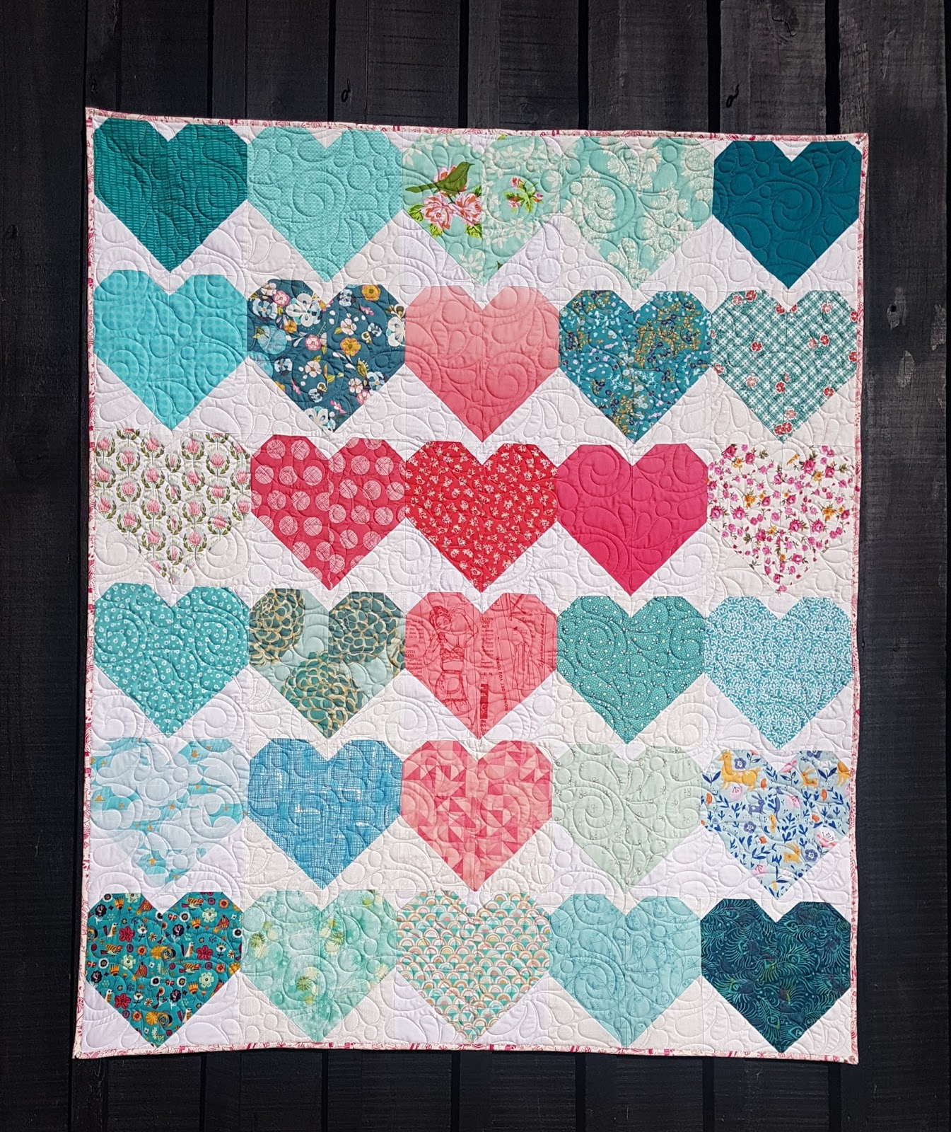 quiltmekiwi: Penny\'s \'Cuppa\' Quilt.......................and a quilt ...
