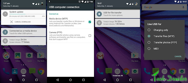 Motorola Moto G 3rd Gen : Before and After Marshmallow Update