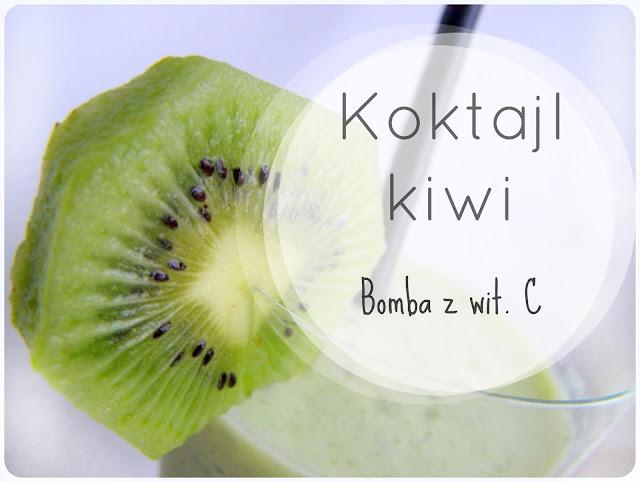 Koktajl z kiwi- bomba witaminy C
