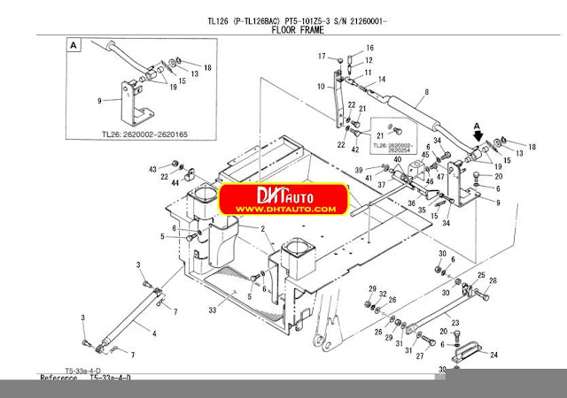 En.Oto-hui.com: Takeuchi Excavator TL126 Parts Manual