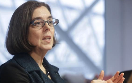 Oregon governor tells Trump she'll REFUSE to send National Guard troops to the Mexican border if he calls them up – and she's allowed to say no