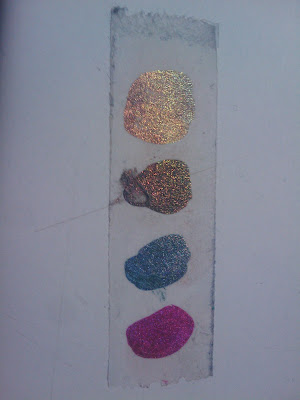 swatches holographic nail laquer