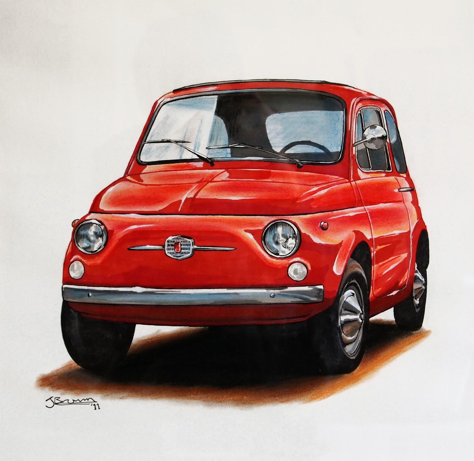 Jake Brown Art: ..some More Car Drawings
