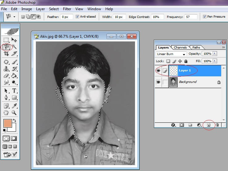 Online Classes for Photoshop: How to convert black and white