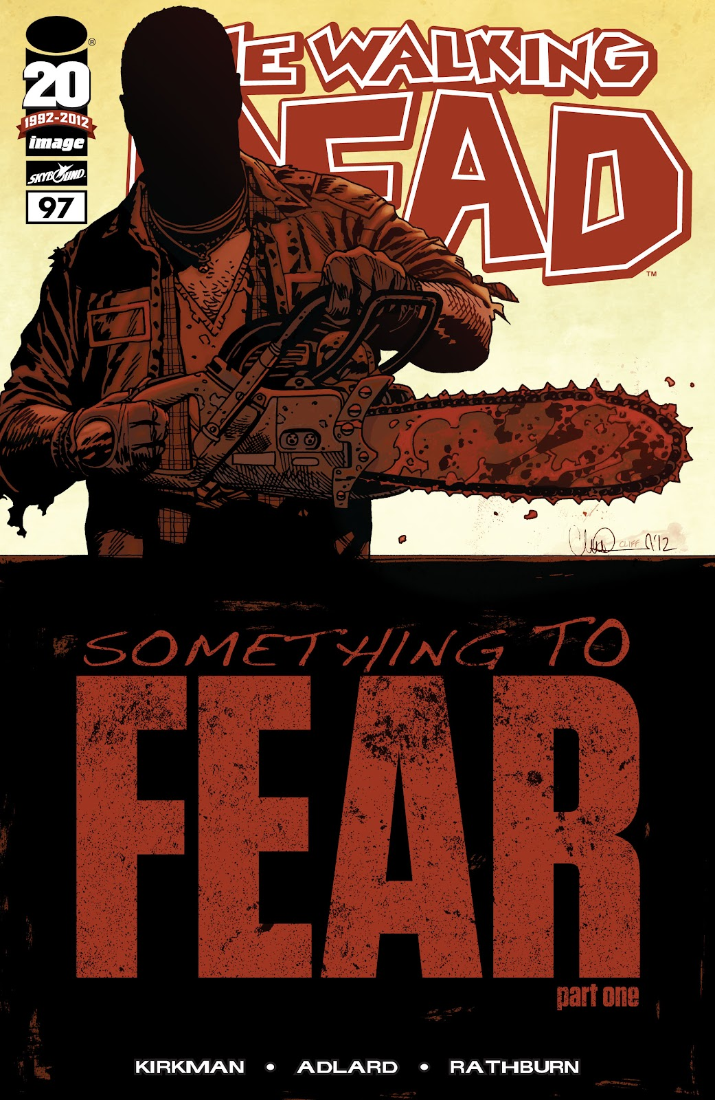 The Walking Dead issue 97 - Page 1