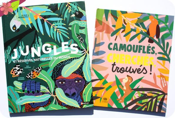 Jungles et réserves naturelles du monde & Camouflés, cherchés, trouvés !