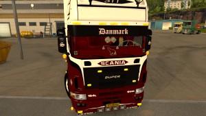 Scania 164L 580 truck mod