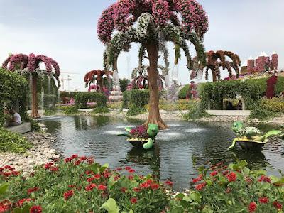 Miracle Gardens, Dubai flowers