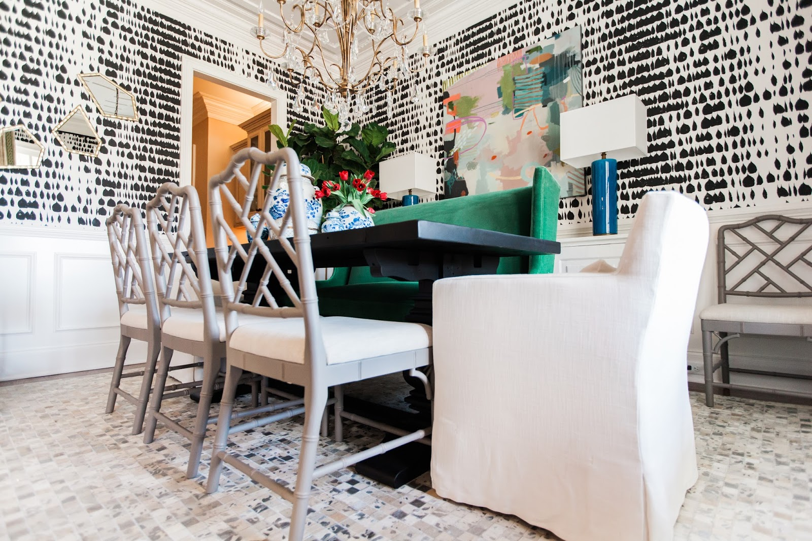 Kendall And Our Dining Room Is Featured On Style Me Pretty Living With  Designer Tips For A Stunning Color And Pattern Combo. Tips And Tricks That  Can Help ...