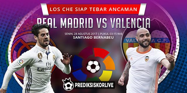 PREDIKSI Real Madrid vs Valencia: Los Che Siap Tebar Ancaman