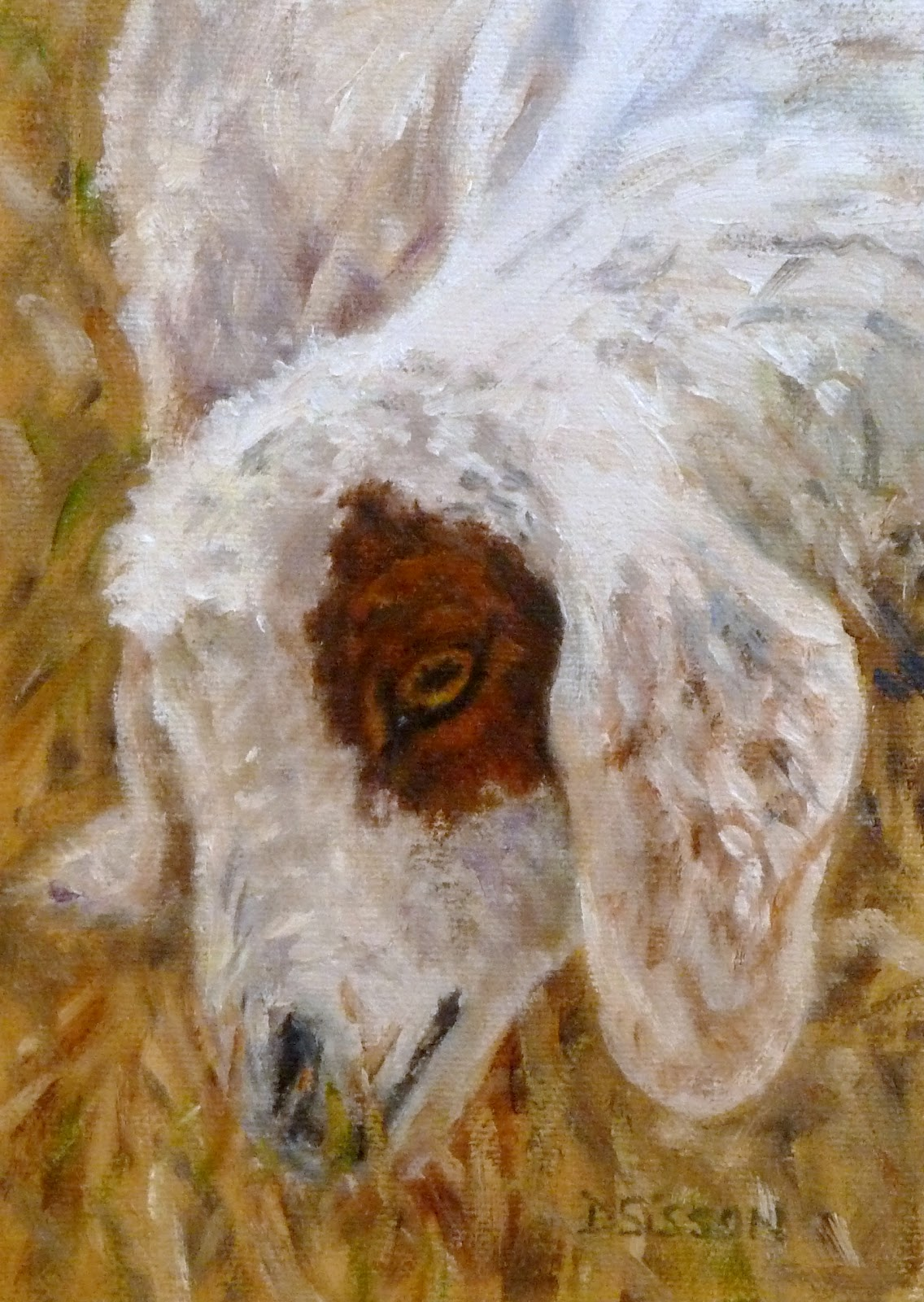Daily Painting Projects: Patch the Goat Oil Painting Goat ...