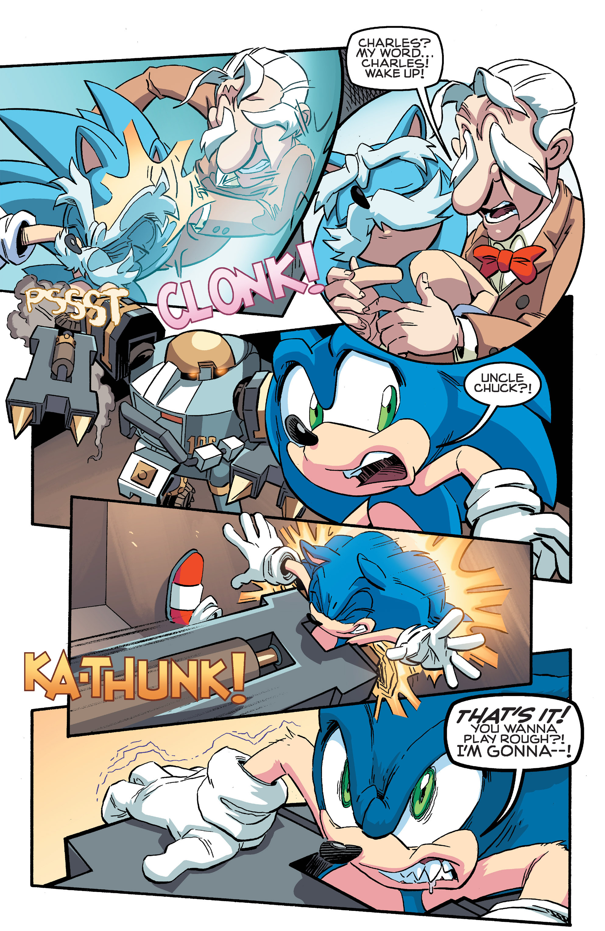 Read online Sonic The Hedgehog comic -  Issue #259 - 8