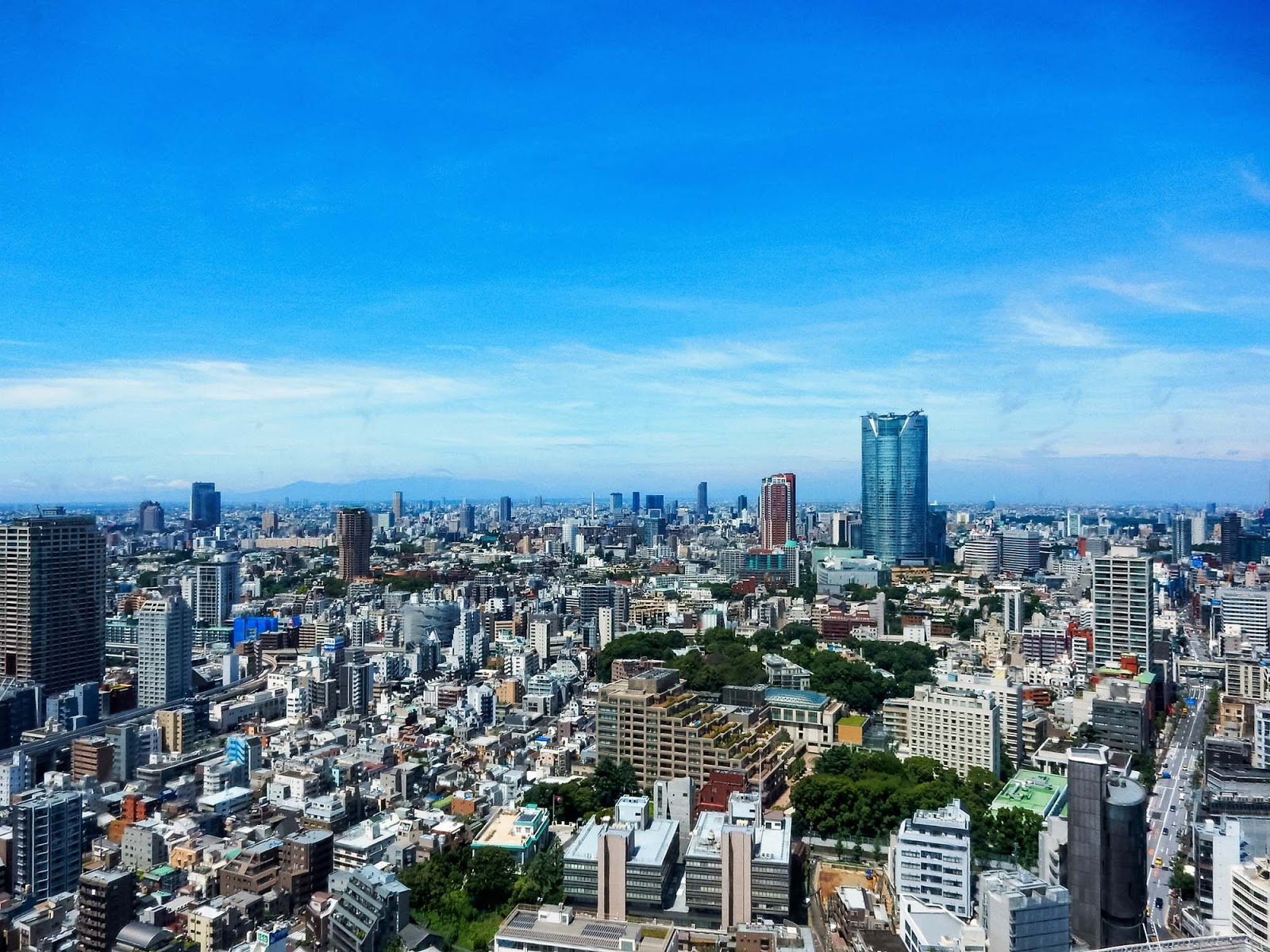 tokyo tower views