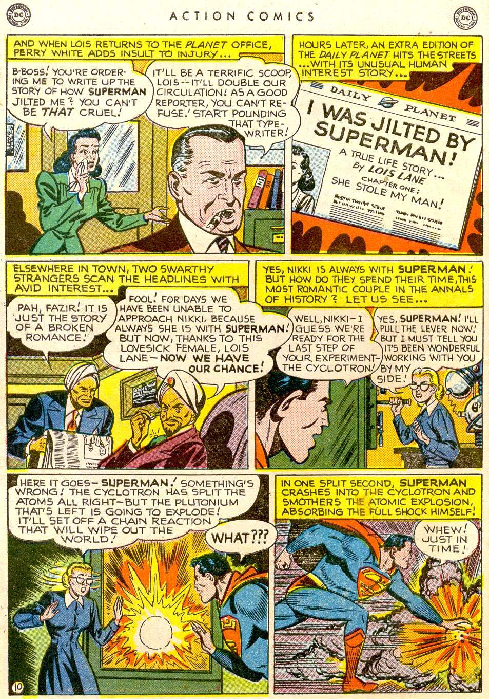 Action Comics (1938) 143 Page 10