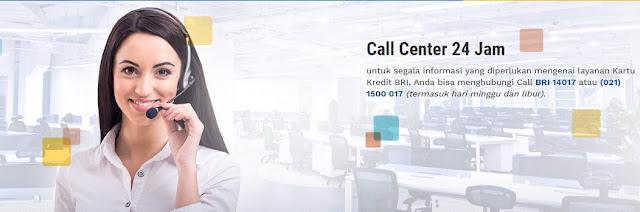Call Center BRI 24 Jam Layani Nasabah