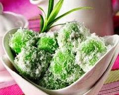 Kue Klepon Kue Tradisional Jajanan Pasar Khas Indonesia