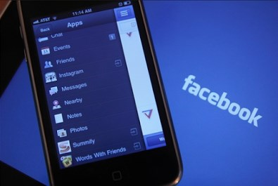 Facebook Login Mobile App