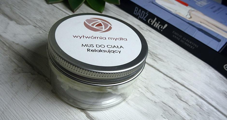 wytwórnia mydla, mus do ciała, relaksujący kosmetyk, spa, aromaterapia, naturalne kosmetyki, kosmetyki dla vegan