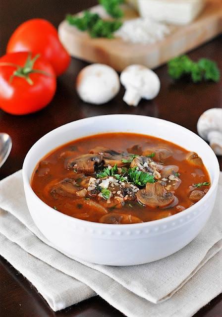Homemade Tomato-Mushroom Soup photo