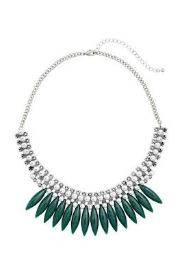 H&M dodatki wiosna-lato 2016 co kupić z nowej wiosennej kolekcji naszyjnik etno boho style