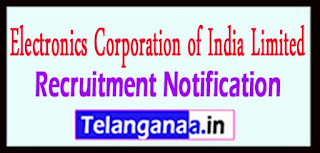 ECIL Electronics Corporation of India Limited Recruitment Notification 2017 Last Date 06-05-2017